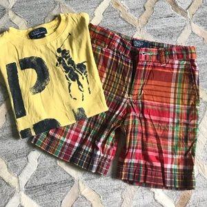 Polo Ralph Lauren short set